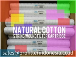 PFI Natural Cotton String Wound Filter Cartridge Indonesia  large