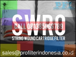 SWRO String Wound Cartridge Filter Indonesia  large