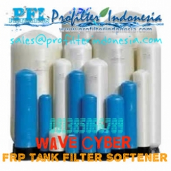 wave cyber FRP Tank Filter Softener Indonesia  large